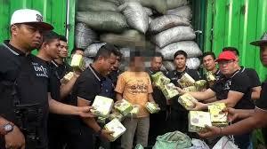 Polres Metro berhasil Amankan 5 Karung berisi Sabu di Tol Bakahueni Lampung