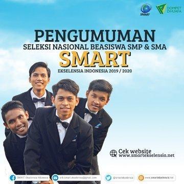 SMP SMART Masuk 25 Sekolah Swasta Terbaik Se-Indonesia