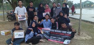 Warga Lampung Kumpulkan Dana Kabut Asap