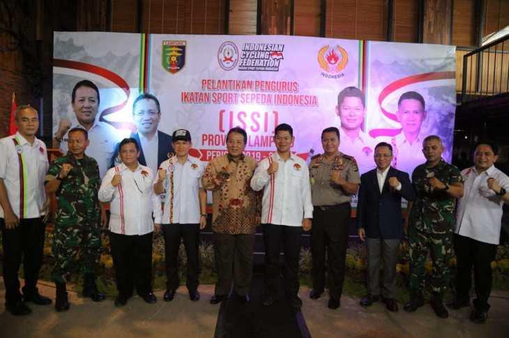 Arinal : Semoga ISSI Dapat Bersinergi dengan Pemprov Lampung dan Hasilkan Atlet Berprestasi
