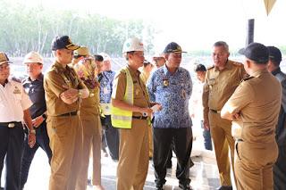 Gubernur Arinal Diwakili Pj. Sekdaprov Fahrizal Darminto Tinjau 2 Titik Rest Area Jalan Tol