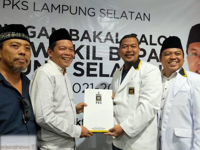 Mengkerucut, DPD PKS Lamsel Interview 4 Kandidat Kepala Daerah
