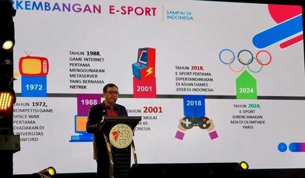 Melek Teknologi, Budi Gunawan Pimpin Ketua Umum PB eSports