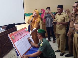 Para Babinsa Ikut Andil Dalam Lokakarya Mini