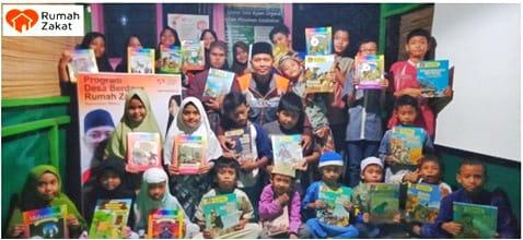 Rumah Baca Rumah Zakat di Desa menjadi Inspirasi Dan Solusi