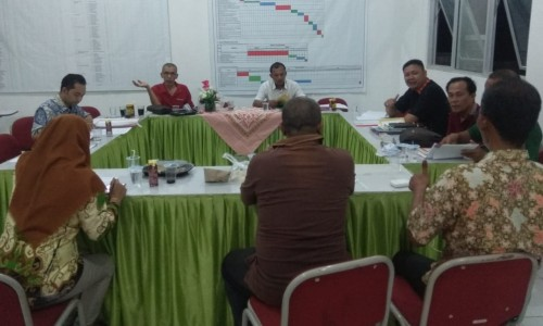 Panita Pilkakon Kabupaten Rapat Pengaduan Masyarakat