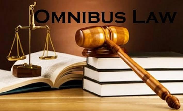 RUU Omnibus Law Ciptaker Meningkatkan Penyerapan Tenaga Kerja