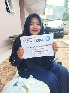 Keluarga Ojek Online Dibantu Sembako
