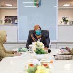 Wagub Nunik dan OPD Bahas Pemberian Masker Gratis untuk Masyarakat Terdampak Covid-19