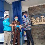 PD IWO Way Kanan Bersama Kejari Way Kanan Bagikan 1000 masker dan Penyemprotan Disinfektan