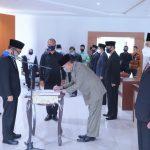 Adipati Lantik Pejabat Administrator  Dan Pejabat Tinggi Pratama