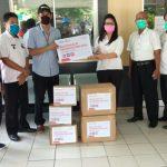 PT Pertamina ITP Gandeng Rumah Zakat Salurkan APD dan Hand Washer