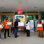 HSBC Menggandeng Rumah Zakat Salurkan APD untuk Tenaga Medis dan Paket Sembako di wilayah rentan