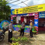 Wadir Lantas Polda Lampung Kunjungi Pos Pam Polres Tanggamus