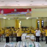 Peduli Covid-19, IIPG Bersama DPD Golkar Lampung Bagi 100 Wastafel Portable dan 15 Ribu Masker