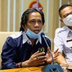 Wakil Ketua PWI Menjadi pemateri Diskusi Kegiatan Penguatan Kehumasan Kanwil Hukum dan Ham Lampung