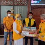 Golkar Lampung Beri Bantuan APD ke Pemkot Metro