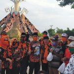 MPC Pemuda Pancasila Lampura Gelar Bhakti Sosial Bagi-Bagi Sembako dan Masker Kepada Masyarakat