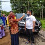 Pantau Keluar Masuk Warga di Posko Gerbang Way Galih, Nanang Beri Apresiasi Tim Gugus Tugas Covid-19