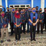 Anggota DPRD Provinsi Lampung,Sambangi Kantor PWI Way Kanan