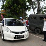 Wali Kota Pantau Langsung Kendaraan Keluar Masuk Bandar Lampung