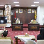 Gubernur Arinal Apresiasi Peranan Kalangan Swasta di Provinsi Lampung dalam Penanganan Covid-19