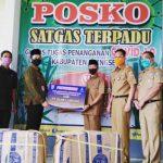 Pemkab Pringsewu Terima APD CSR Bank Lampung