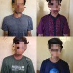 Pelaku pencurian sepeda Motor beserta penadah di Tangkap Unit Reskrim Polsek Abung Selatan