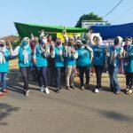Komunitas Ala Mom's Gapura Kotabumi Gelar Bhakti Sosial Peduli ke Sesama