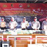 Tim Gabungan, Bareskrim Polda Lampung Kembali Berhasil Amankan Penyelundupan Narkoba