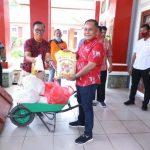 Gugus Tugas Covid-19 Pemkab Lamsel distribusikan 3.000 Paket Sembako Di Tiga Wilayah Lamsel Yang Terpapar Covid-19