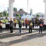 Serahkan Bantuan 580 Paket Sembako kepada Anggota Koperasi Mina Jaya