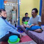 Sakit hingga Diinfus, Hipni Jenguk Wartawan Senior Agus Pamintaher