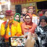 Pasangan Dua Bintang Adakan Halal Bihalal di Lamban Gedung Kuning