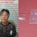 Edarkan Sabu, Buruh Harian Lepas Diamankan Satres Narkoba Polres Lampura