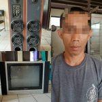 Polsek Tanjung Raja Lampura Berhasil Amankan Pelaku Pencurian