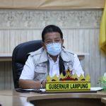Rakor Pencegahan Korupsi Terintegrasi KPK, Gubernur Arinal Dorong Peningkatan Tugas dan Fungsi Inspektorat dalam Pencegahan Korupsi di Daerah