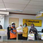 Maybank Indonesia Gandeng Rumah Zakat Berikan Santunan Yatim & Dhuafa Terdampak Covid-19