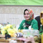 Ibu Riana Lakukan Halalbihalal secara Virtual dengan Pengurus Pengajian Al Hidayah se-Provinsi Lampung