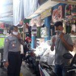 Tim Gugus Tugas Covid-19 Kabupaten Tanggamus Melaksanakan Himbauan Diseluruh Pasar