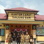 Audensi DPC JPKP Tanjung Sari Lampung Selatan Ke pada Unsur pimpinan kecamatan Tanjung Sari.