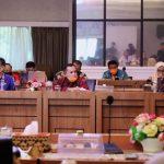 Rapat Evaluasi Pengembangan Kawasan Wisata Terintegritas Bakauheni