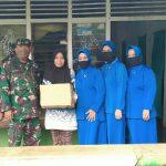 Kakimal Lampung Bersama Ketua Jalasenastri Kunjungi Kediaman Les Yunita Penderita Tumor