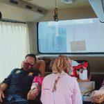 Peringati Hari Bhyangkara Ke- 74, Polres Lampura Bersama Instansi Terkait Gelar Donor Darah