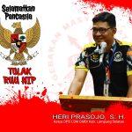 """DPD LSM GMBI Kabupaten Lampung Selatan """"TEGAS"""" Tolak RUU HIP"""
