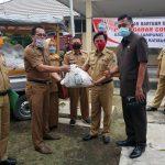 Pemkab Lampung Selatan Mulai Distribusikan Ribuan Paket Sembako Dari APBD