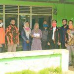Bentuk Empati, MPC PP Bersama PD IWO Lampura Kunjungi Kediaman Les Yunita Penderita Tumor Ganas