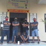 Dua Pelaku Curat Diamankan Unit Reskrim Polsek Bukit Kemuning