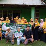 BKMT Bersama FPI Lampura, Kunjungi dan Berikan Bantuan Les Yunita Penderita Tumor Ganas