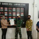 Upaya Lakukan PDPB, KPU Lampura Kunjungi Kodim 0412